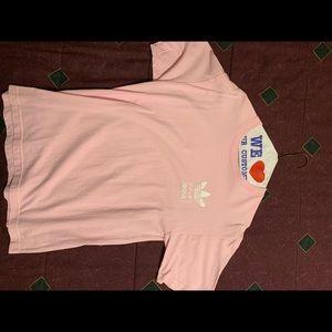 Pink Adidas Orignals T shirt Men